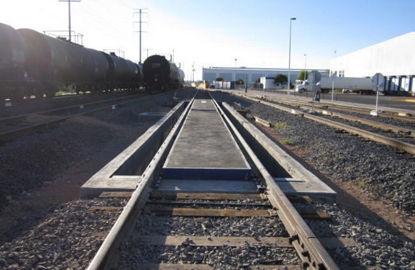 Báscula Ferrocarrilera de Plataforma