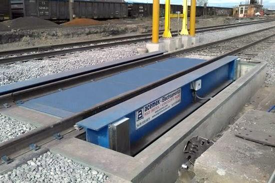 Báscula Ferrocarrilera Modular